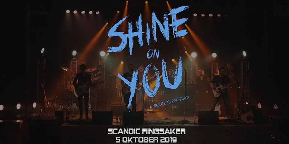 Shine on you, a tribute to Pink Floyd på Scandic Ringsaker