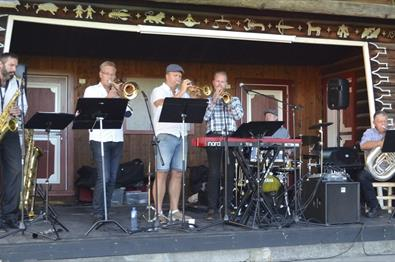 "Jazz-bandet ""Tough Daddy"" i Mariakirken!"