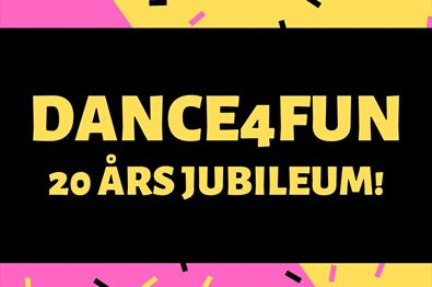 DANCE4FUN 20 årsjubileum!