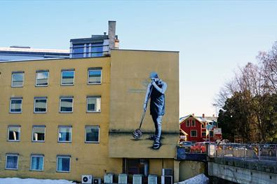 The craftsman in Gjøvik av Martin Whatson